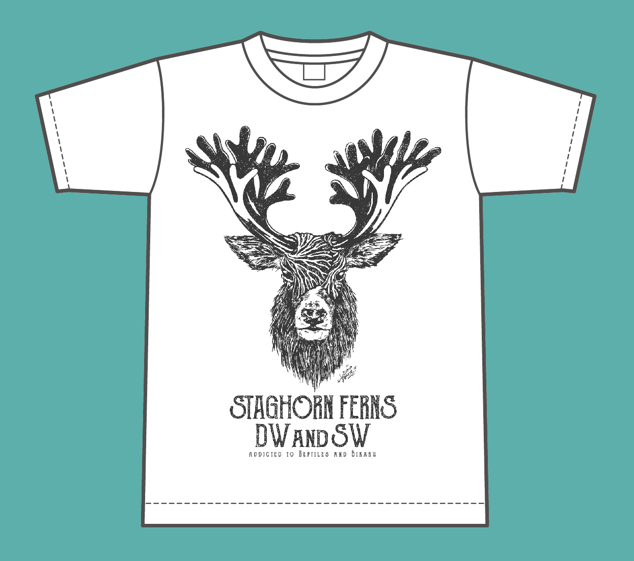 リド鹿Teeシャツ